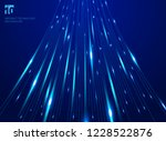 abstract hight speed movement... | Shutterstock .eps vector #1228522876
