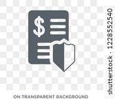 investment trust icon. trendy... | Shutterstock .eps vector #1228552540