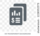 income statement icon. trendy...   Shutterstock .eps vector #1228552573