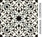 arabic floral seamless pattern. ... | Shutterstock .eps vector #1228554556