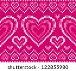 valentines day glamour knitted...