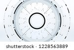 futuristic technology abstract...   Shutterstock .eps vector #1228563889