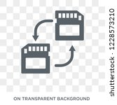 memory transfer icon. trendy... | Shutterstock .eps vector #1228573210