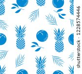 seamless pattern with... | Shutterstock .eps vector #1228574446