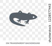lizard icon. trendy flat vector ... | Shutterstock .eps vector #1228577443