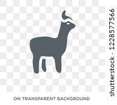 alpaca icon. trendy flat vector ... | Shutterstock .eps vector #1228577566