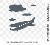 departures icon. trendy flat... | Shutterstock .eps vector #1228582813