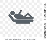 resting icon. trendy flat... | Shutterstock .eps vector #1228584316