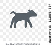 calf icon. trendy flat vector...   Shutterstock .eps vector #1228584559