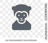 ape icon. trendy flat vector... | Shutterstock .eps vector #1228584586