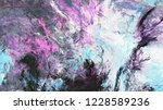 blue  grey and violet abstract... | Shutterstock . vector #1228589236