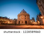 science library in oxford ... | Shutterstock . vector #1228589860
