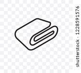 blanket vector linear icon... | Shutterstock .eps vector #1228591576