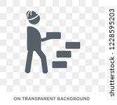model building icon. trendy... | Shutterstock .eps vector #1228595203