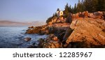 Bass Harbor Light  Acadia...