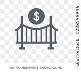 bridging loan icon. bridging... | Shutterstock .eps vector #1228599946