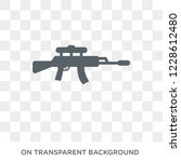 rifle icon. rifle design... | Shutterstock .eps vector #1228612480