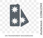 militar insignia icon. militar... | Shutterstock .eps vector #1228612543