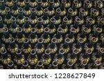 wine bottles background ...   Shutterstock . vector #1228627849