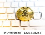 crypto currency bitcoin... | Shutterstock . vector #1228628266