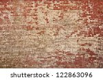Rustic Old Brick Wall Texture