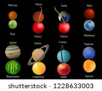 planets of the solar system.... | Shutterstock .eps vector #1228633003
