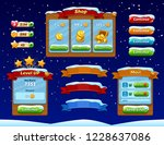 game ui set. complete menu of...