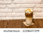 ice caramel macchiato in the... | Shutterstock . vector #1228637299