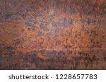 metal rust background  old... | Shutterstock . vector #1228657783
