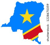 democratic republic of the... | Shutterstock .eps vector #1228670359