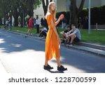 milan  italy  23 september 2018 ... | Shutterstock . vector #1228700599