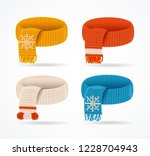 realistic 3d detailed color... | Shutterstock .eps vector #1228704943