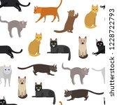 cartoon different types cute... | Shutterstock .eps vector #1228722793