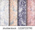vintage baroque victorian...   Shutterstock .eps vector #1228725790
