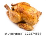 roast chicken | Shutterstock . vector #122874589