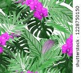 watercolor seamless pattern... | Shutterstock . vector #1228750150