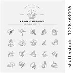 vector icon and logo for... | Shutterstock .eps vector #1228763446