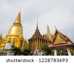 bangkok  thailand.   on october ... | Shutterstock . vector #1228783693