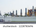 bangkok  thailand.   on october ... | Shutterstock . vector #1228783696