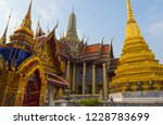 bangkok  thailand.   on october ... | Shutterstock . vector #1228783699