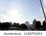 national diet building of japan ... | Shutterstock . vector #1228793353
