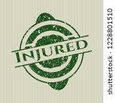 green injured distressed rubber ... | Shutterstock .eps vector #1228801510