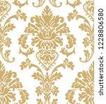 beautiful damask pattern. royal ... | Shutterstock . vector #1228806580
