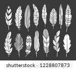 feather bohemian elements on... | Shutterstock .eps vector #1228807873