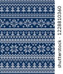 ugly sweater merry christmas... | Shutterstock .eps vector #1228810360