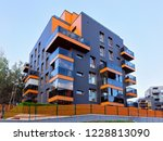 modern apartment flat house... | Shutterstock . vector #1228813090