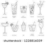 set of different types of... | Shutterstock .eps vector #1228816039