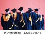 happy graduation day concept | Shutterstock . vector #1228824646