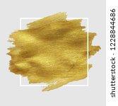 sale golden blot  vector... | Shutterstock .eps vector #1228844686
