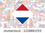 flag background of european... | Shutterstock .eps vector #1228881553
